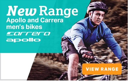 New Carrera Bikes Range
